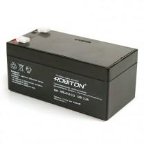 Свинцово-кислотный аккумулятор Robiton VRLA12-3.3, 12 В, 3.3 А∙ч