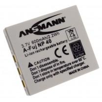 Аккумулятор NP-40 для фотоаппарата Fujifilm FinePix Z1, Li-ion, 600 mAh
