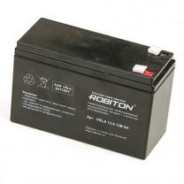 Свинцово-кислотный аккумулятор Robiton VRLA12-9, 12 В, 9 А∙ч