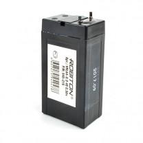 Свинцово-кислотный аккумулятор Robiton VRLA4-0.9, 4 В, 0.9 А∙ч