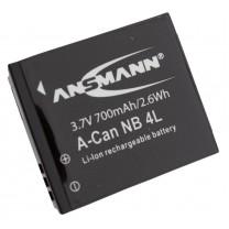 Аккумулятор NB-4L для фотоаппарата Canon PowerShot SD30, Li-ion, 700 mAh