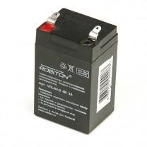 Свинцово-кислотный аккумулятор Robiton VRLA4-3, 4 В, 3 А∙ч