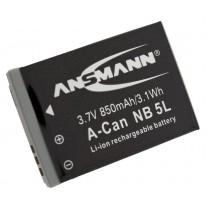 Аккумулятор NB-5L для фотоаппарата Canon PowerShot S100, Li-ion, 750 mAh
