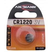 CR1220, батарейка литиевая Ansmann