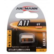 A11, батарейка алкалиновая (щелочная) Ansmann