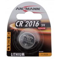 CR2016, батарейка литиевая Ansmann