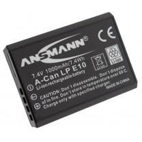 Аккумулятор LP E10 для фотоаппарата Canon EOS 1100D, Li-ion, 1000 mAh