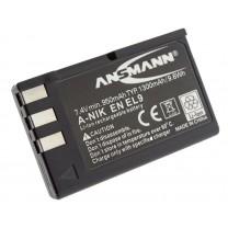Аккумулятор EN-EL9 для фотоаппарата Nikon D40, Li-ion, 1300 mAh