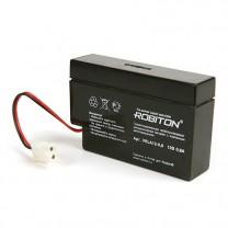Свинцово-кислотный аккумулятор Robiton VRLA12-0.8, 12 В, 0.8 А∙ч