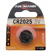CR2025, батарейка литиевая Ansmann