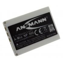 Аккумулятор для фотоаппарата Konica Minolta NP-900, Li-ion, 650 mAh