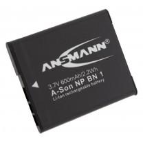 Аккумулятор NP-BN1 для фотоаппарата Sony DSC-T99, Li-ion, 600 mAh