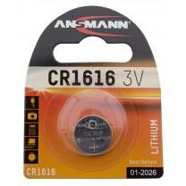 CR1616, батарейка литиевая Ansmann