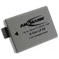 Аккумулятор LP E5 для фотоаппарата Canon EOS 1000D, Li-ion, 1000 mAh