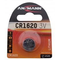 CR1620, батарейка литиевая Ansmann
