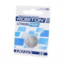 CR2325, батарейка литиевая Robiton