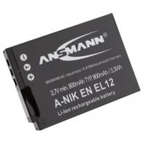 Аккумулятор EN-EL12 для фотоаппарата Nikon Coolpix S610, Li-ion, 900 mAh