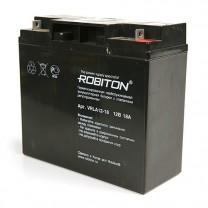 Свинцово-кислотный аккумулятор Robiton VRLA12-18, 12 В, 18 А∙ч
