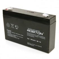 Свинцово-кислотный аккумулятор Robiton VRLA6-7, 6 В, 7 А∙ч