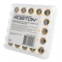 CR2032, элемент питания с выводами под пайку Robiton