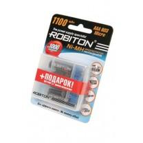 Аккумулятор AAA, Ni-Mh, 1100 mAh, Robiton