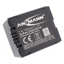 Аккумулятор CGA-DU14 для видеокамеры Panasonic NV-GS100K, Li-ion, 1050 mAh