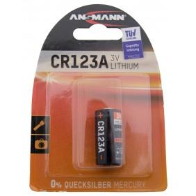 CR123A, батарейка литиевая Ansmann