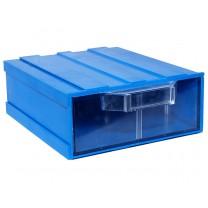 Контейнер К2, корпус синий (лоток прозрачный), 133х167х57мм