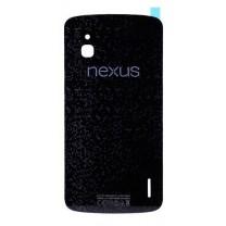 Задняя крышка для LG Google Nexus 4 E960 черная