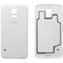 Задняя крышка для Samsung Galaxy S5 SM-G900F белая, оригинал