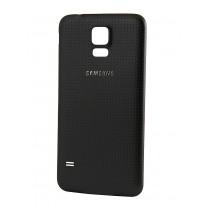 Задняя крышка для Samsung Galaxy S5 SM-G900F черная, оригинал