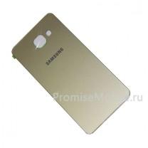 Задняя крышка для Samsung Galaxy A5 (2016) SM-A510F золотая