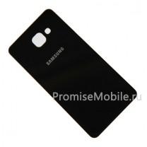 Задняя крышка для Samsung Galaxy A7 (2016) SM-A710F черная