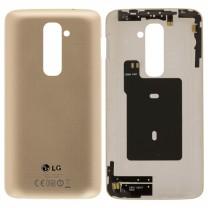 Задняя крышка для LG G2 D802 золотая