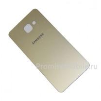 Задняя крышка для Samsung Galaxy A7 (2016) SM-A710F золотая