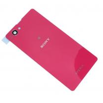 Задняя крышка для Sony Xperia Z1 Compact D5503 розовая