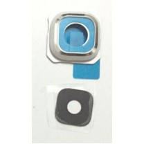 Защитное стекло камеры Samsung Galaxy S6 edge plus белое