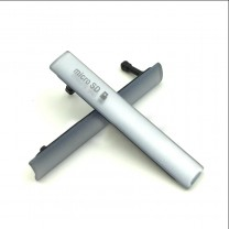 Комплект заглушек для Sony Xperia Z3 compact (microUSB + microSIM/microSD) белый