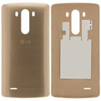 Задняя крышка для LG G3 D850 золотая