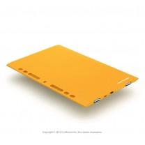 Универсальный внешний аккумулятор на 7200 mAh оранжевый