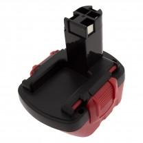 Аккумулятор для Bosch GSR 12-2, 12V, 2.0Ah, Ni-Cd, TopOn