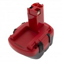Аккумулятор для Bosch GSR 12-2, 12V, 3.0Ah, Ni-Mh, TopOn