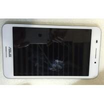Дисплей для Asus Memo Pad ME375CG + тачскрин с белой рамкой