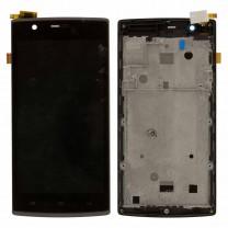 Дисплей для Fly FS501 Nimbus 3 + тачскрин черный в раме, оригинал