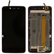 Дисплей для Fly FS505 Nimbus 1 + тачскрин черный в раме, оригинал