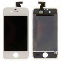 Дисплей для iPhone 4 + тачскрин белый, оригинал