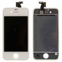 Дисплей для iPhone 4S + тачскрин белый, оригинал