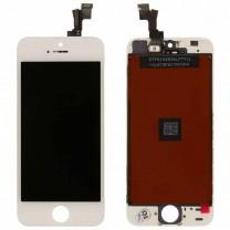 Дисплей для iPhone 5S + тачскрин белый, оригинал