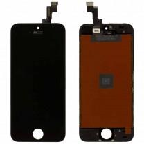Дисплей для iPhone 5S + тачскрин черный, оригинал