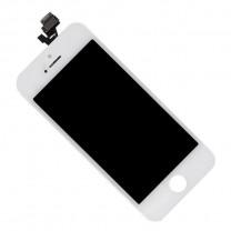 Дисплей для iPhone 5 + тачскрин белый, копия